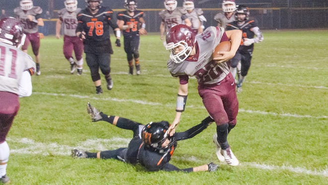Union  City vs. Homer in Big Eight play