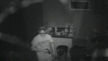 Authorities are looking for two suspects who burglarized a Town of Van Etten home Saturday.