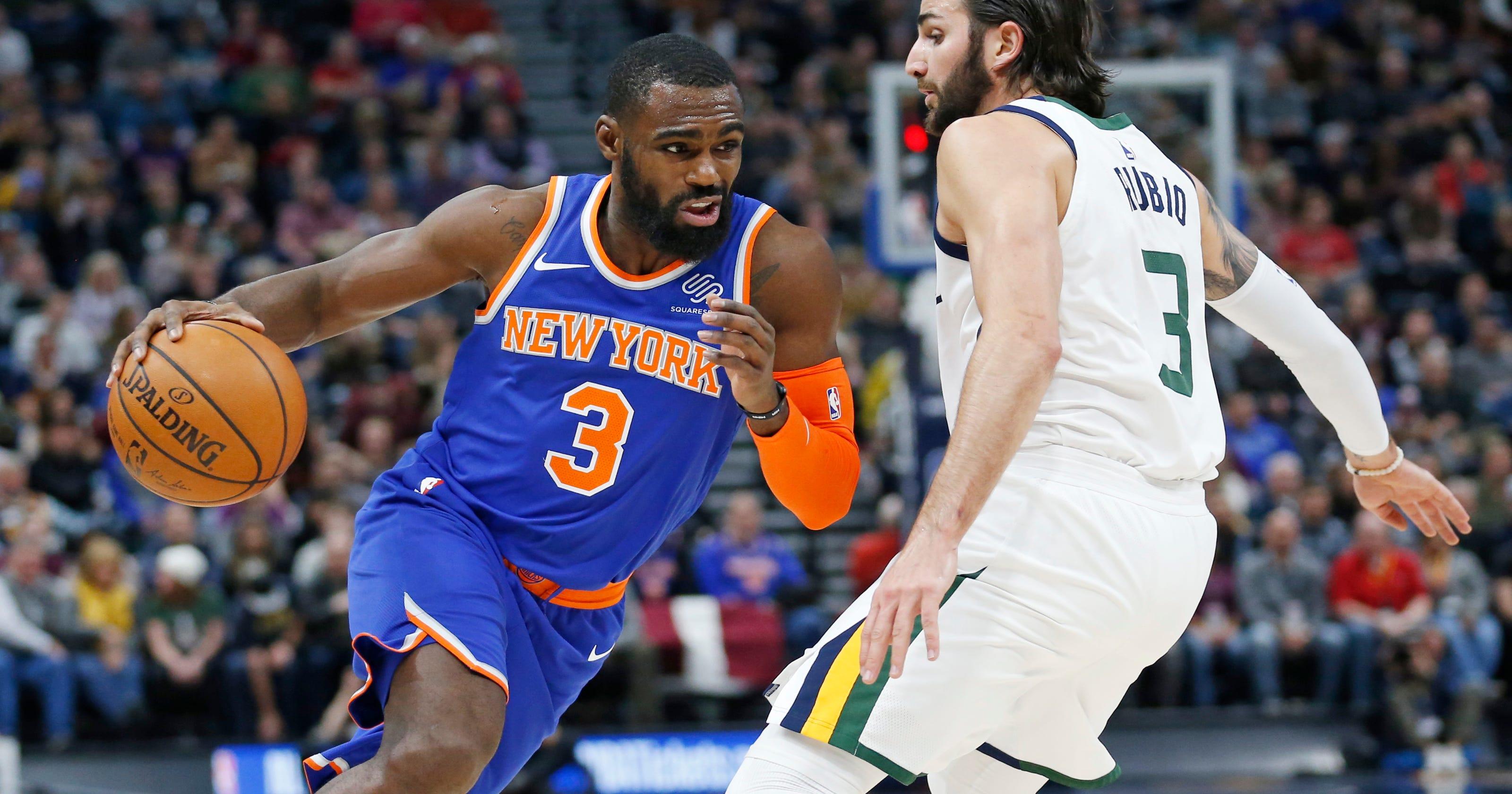official photos 7b958 b7dcc New York Knicks' Tim Hardaway Jr. pushing for playoffs