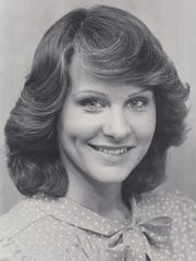 This 1981 photo shows WISH-8 news anchor Debby Knox.