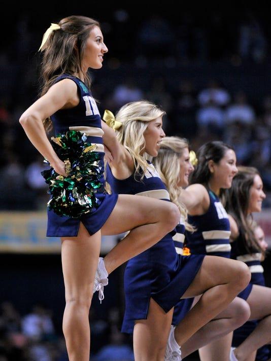 Wheatland Chili Grad Captains Notre Dame Cheerleaders