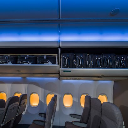 Alaska Airlines is first to take Boeing 737 with 'Space Bins'