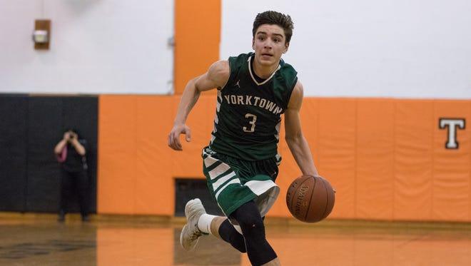 Yorktown took on Spring Valley during the Class AA Boys High School Basketball Quarterfinal on Friday, Feb. 24 at Spring Valley High School.