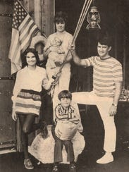 Jim and Bernice Day with children Colleen, 13, Timothy, 8 and Matthew, 3 months, in a photo which appeared in the Livingston County Press Thursday, Sept. 9, 1971.