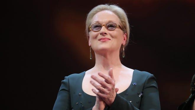 Meryl Streep has called the lack of female film critics 'infuriating.'