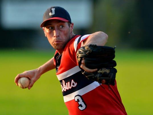 """Red Lion vs Jacobus Susquehanna League baseball"""