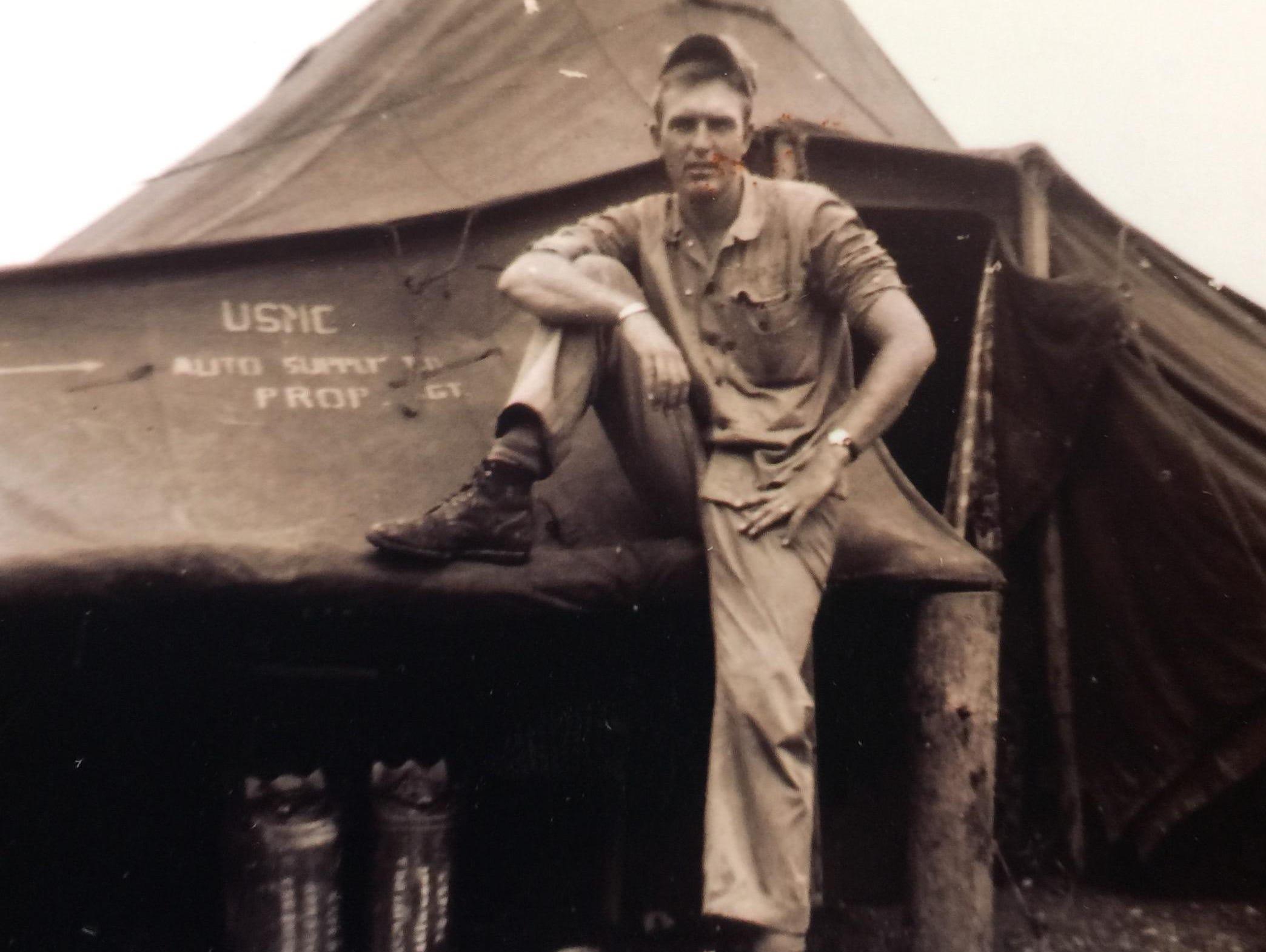 """Dudley """"Big Daddy"""" Jones fought in the Frozen Chosin battle in Korea in 1950."""