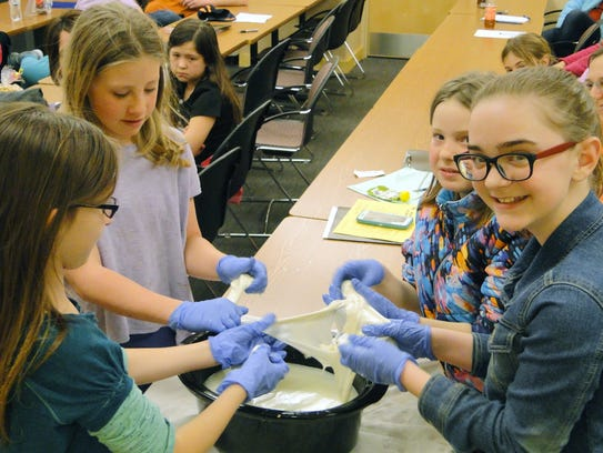 4-H members enjoyed the hands-on opportunities in the