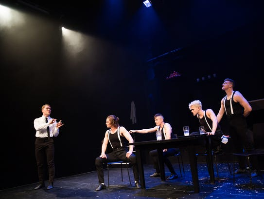 Off-Broadway review: u0026#39;A Clockwork Orangeu0026#39; at New World Stages