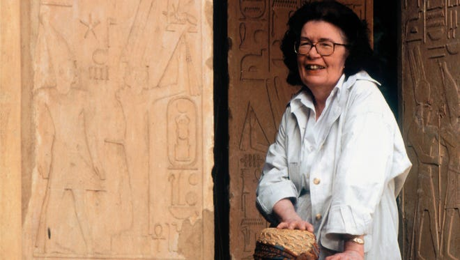 Barbara Mertz, an Egyptologist who wrote dozens of mystery and suspense novels under two pseudonyms, died Aug. 8.
