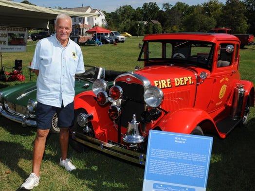 Retired Farmington Hills firefighter Robert Rebtoy