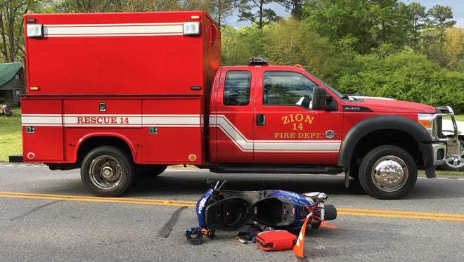 A fatal wreck involving a moped was reported in Anderson County.