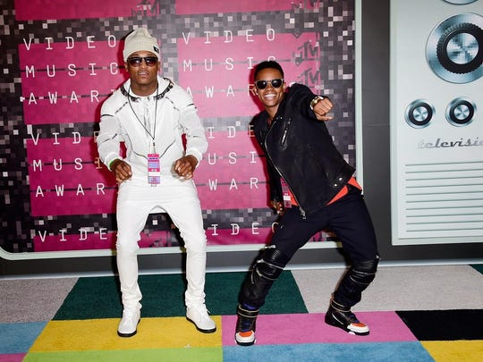 Silento, right, and DJ Grand will perform on Sept. 27 at Lucas Oil Stadium.