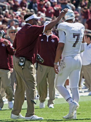 Texas A&M coach Kevin Sumlin and quarterback Kenny Hill will visit the Plains on Nov. 8.