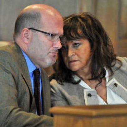Former Fairfield County Clerk of Courts Deborah Smalley,