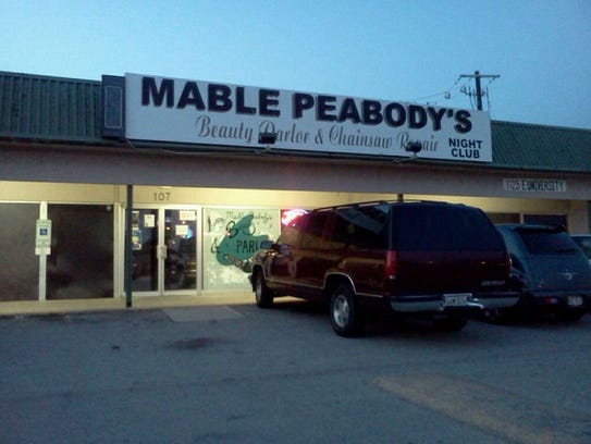 Mable Peabody's Beauty Parlor & Chainsaw Repair Night
