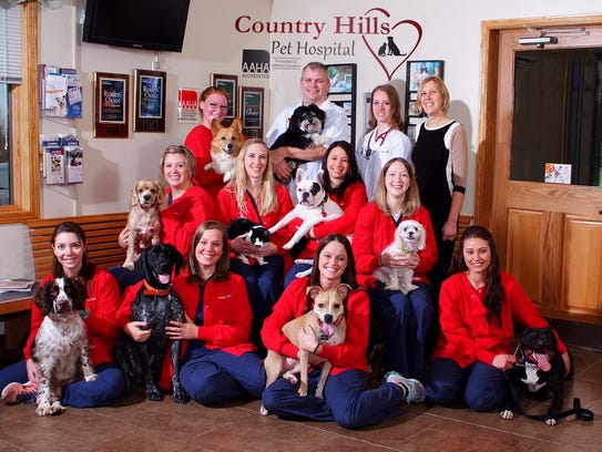 Country Hills Pet Hospital recently received a finalist