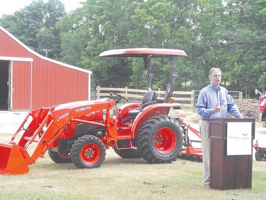 Alex Woods of Kubota Tractor Corporation shares some
