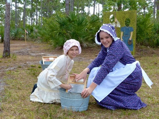 The Pioneer Days Festival is Saturday at Savannas Preserve