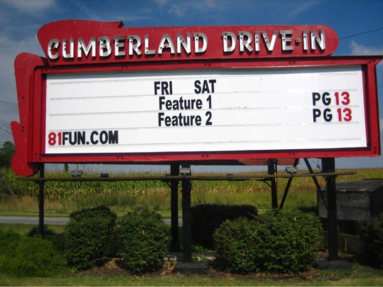 Cumberland Drive-In, located in Newville, Cumberland