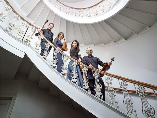The Brentano String Quartet opens the Middlebury Bach