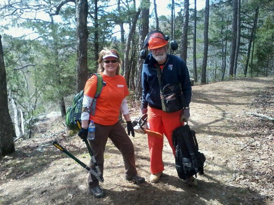 Members of the North Central Arkansas Master Naturalists'