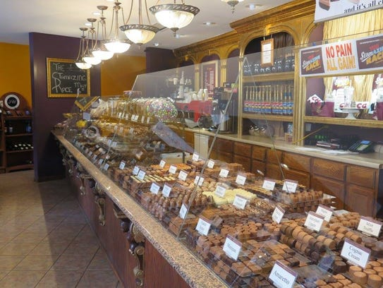 Chocolaterie Stam in Des Moines.