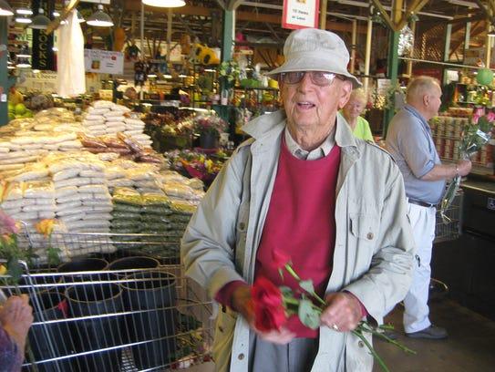 Jerald Horrocks, the founder of Horrocks Farm Market,