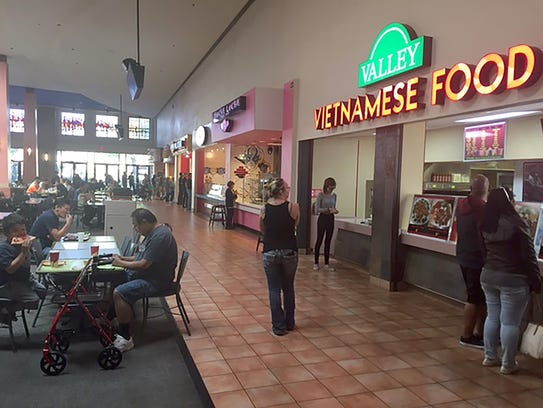 Chandler Mall Food Places