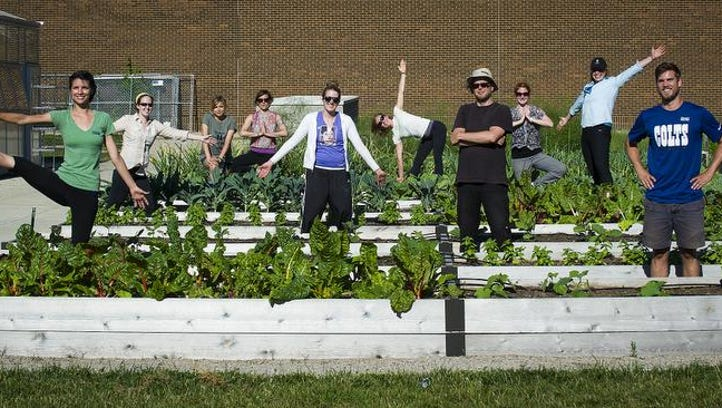Growing Places Indy operates an urban farm on the grounds of the Chase Near Eastside Legacy Center. It serves the surrounding community as well as students from Arsenal Tech.