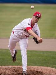 Former Battle Creek Bombers pitcher Alex Hermeling.