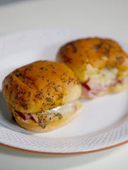 Ham and Cheese Sliders photographed on Thursday, Jan.