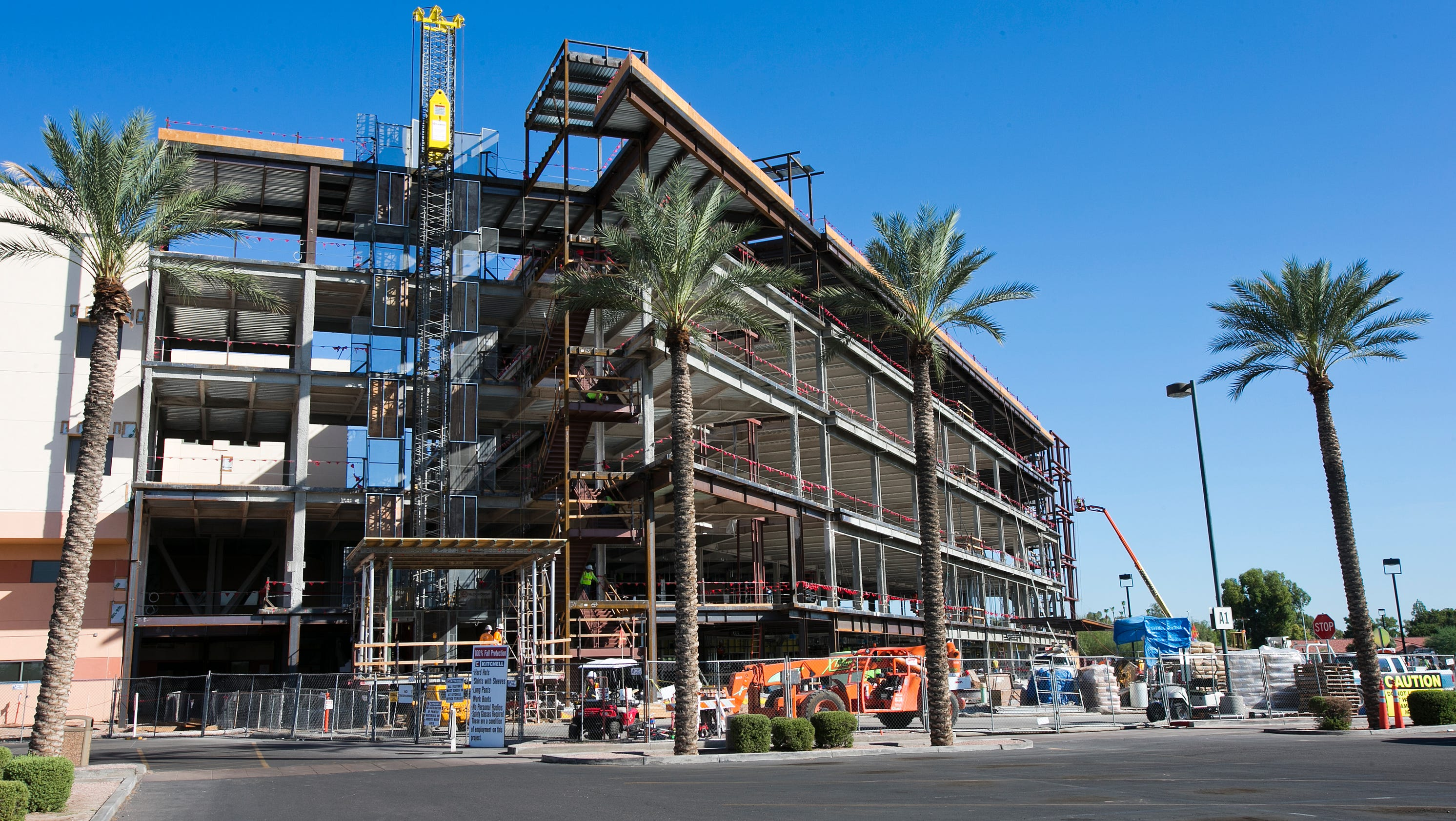 Construction Of Tower C At Chandler Regional Medical Center