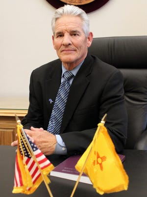 New Mexico Secretary of State Brad Winter poses for a photograph in his office in Santa Fe on Wednesday. Winter said a new guide for lobbyists and training on campaign finance reporting are among the office's efforts to boost education and accessibility.