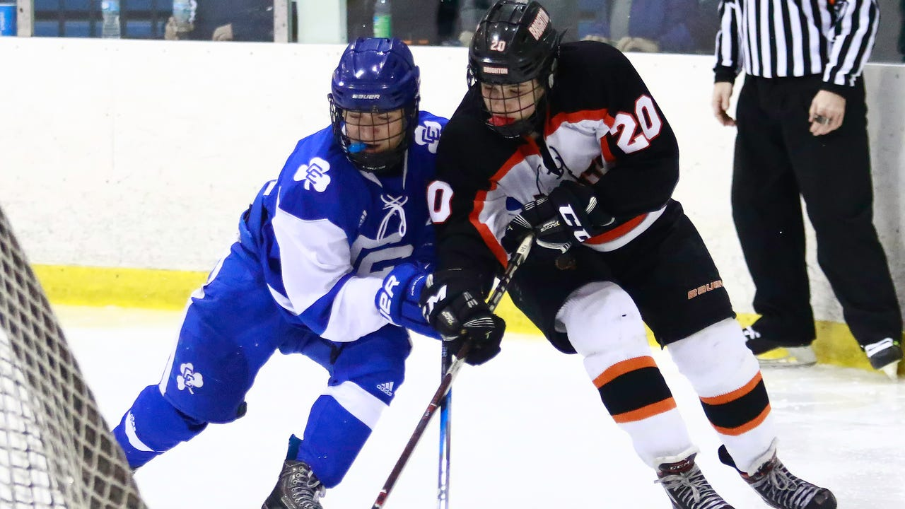 Highlights and interviews from Detroit Catholic Central's 3-0 hockey victory over Brighton in the MIHL-KLAA Challenge Showcase.