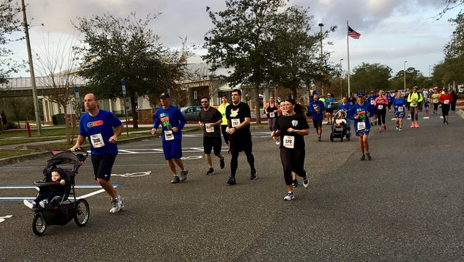 The annual Tooth Trot 5K helps raise funds and awareness for children's dental health.