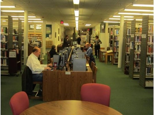 Photo of interior of Adult Services