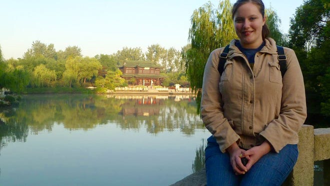 Michelle Fromm, 23, of Howards Grove, accepted a teaching position in Yangzhou, China, to put work experience on her resumé and fulfill her desire to travel.