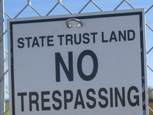 state trust land education funding