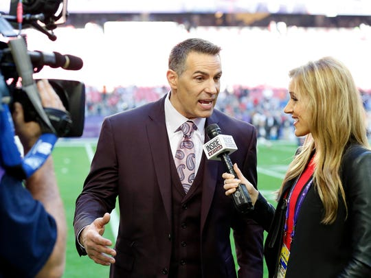 Kurt Warner stays close to the NFL these days, as an