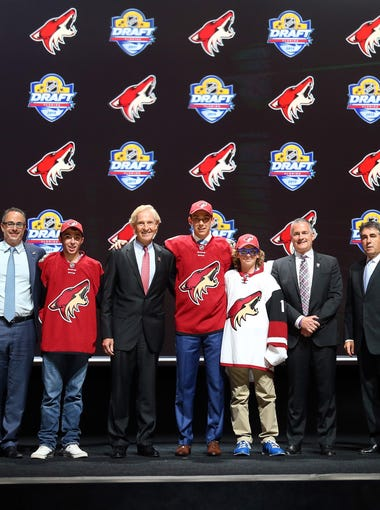 The Coyotes bolstered their prospect pool at the NHL draft, adding nine players. Here's a look at how each stands out.