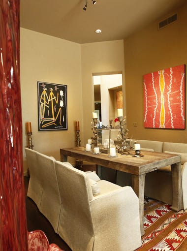 The Flittie home dining room in Cheney Estates on Oct. 14, 2015 in Paradise Valley, Ariz.