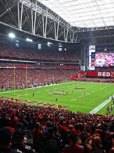 In recognition of reaching the century mark for consecutive sellouts in University of Phoenix Stadium's 10th year of existence, azcentral sports NFL writer Bob McManaman offers his top memories and moments in the history of the stadium, ranked from 1 to 100: