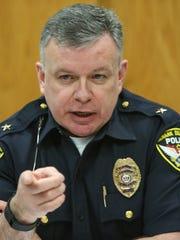 Newark Police Chief Paul Tiernan