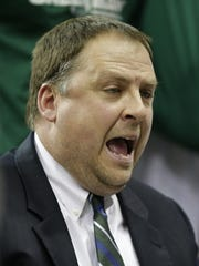 UW-Green Bay head coach Linc Darner is up for Coach