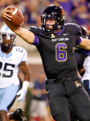 East Carolina-turned-Virginia quarterback Kurt Benkert