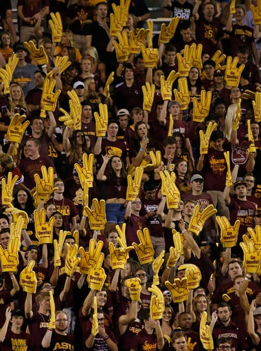 Arizona State hosts Washington State in a 7 p.m. homecoming contest at Sun Devil Stadium. The Sun Devils have won six in a row at home over the Cougars. Will that run end? My scouting report and prediction. TV: Pac-12 Network. Radio: Arizona Sports 98.7 FM.