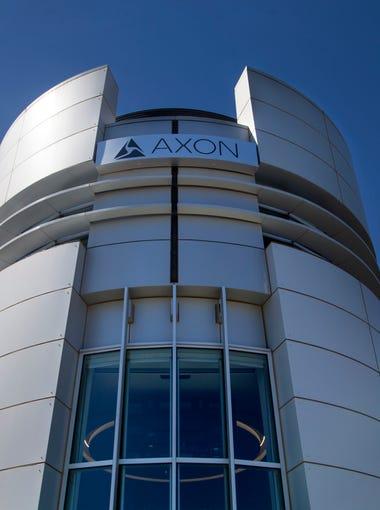 Axon Enterprise/Taser International's headquarters in Scottsdale on Wednesday, April 5, 2017.