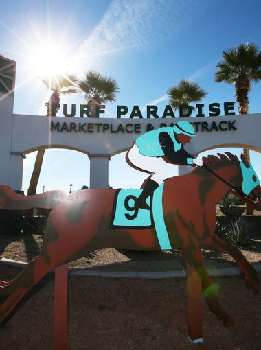 Turf Paradise, a horse racing track at 1501 W. Bell Road, Phoenix, was built 60 years ago on 279 acres of now-prime real estate.