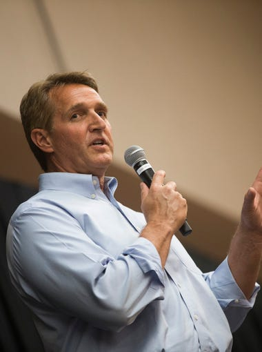 """Sen. Jeff Flake says conservatives have gotten woefully off track in his new book, """"Conscience of a Conservative."""" Here are five key passages:"""